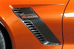 C7 Corvette Z06 2015+ APR Carbon Fiber Fender Vents - Pair