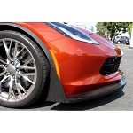 C7 Corvette Stingray/Z06/Grand Sport 2014+ APR Carbon Fiber Front Chin Splitter - Style Selection