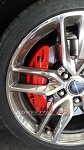 C7 Corvette Stingray 2014+ GM Brake Calipers Set - Red