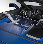 C7 Corvette Stingray / Z06 / Grand Sport 2014+ GM Windscreen Air Deflector - Convertible