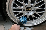 C3 C4 C5 C6 C7 Corvette 1968-2014+ Large Wheel Detail Cleaning Brush