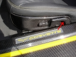 C6 Corvette 2005-2013 Hydro Carbon Fiber Seat Adjustment Levers Set