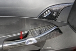 C6 Corvette 2005-2013 Hydro Carbon Fiber Door Handle Large Piece