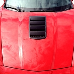 C6 Corvette 2005-2013 ACS 4Teen Hood Conversion Kit - Custom Painted Options