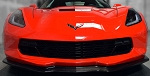 C7 Corvette Stingray/Z06/Grand Sport 2014+ Carbon Fiber Stage 2 Front Splitter W/ Tappered Winglets