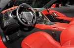 C7 Corvette Stingray/Z06/Grand Sport 2014+ Carbon Fiber Upper Dash Edge Trim - 2Pc