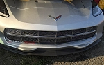 C7 Corvette Stingray 2014-2019 GM Factory Front Grille - Custom Painted