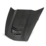 C7 Corvette Stingray 2014+ Carbon Fiber Hood W/ Heat Extractor Vent