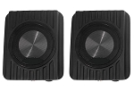 C3 Corvette 1968-1978 Compact Undercover 200 Watt Speakers - Pair