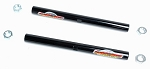 C3 Corvette 1963-1982 Global West Suspension Tubular Tie Rod Adjusting Sleeves - Pair