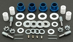 C3 Corvette 1963-1981 Global West Del-A-Lum Control Arm Bushing Kit - Upper / Lower