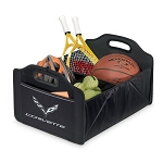 C7 Corvette Stingray/Z06/Grand Sport 2014+ Trunk Caddy Organizer With Crossed Flag Emblem