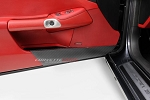 C6 Corvette 2005-2013 Hydro Carbon Fiber Door Panel Kick Guard