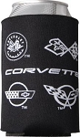 C3 C4 C5 C6 C7 Corvette 1968-2014+ Corvette Drink Koozie - Multiple Options