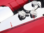 C6 Corvette 2005-2013 Button Kit - Custom Painted