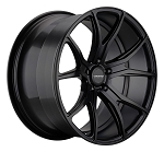 C6 C7 Corvette 2006-2014+ Satin Black Varro Wheels Style 1 - 19x10 / 20x12