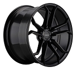 C6 C7 Corvette 2006-2014+ Satin Black Varro Wheels Style 2 - 19x10 / 20x12