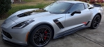 C7 Corvette Z06/Grand Sport 2015+ GM Rear Brake Vent Duct - Pair