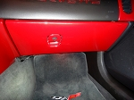C6 Corvette 2005-2013 Custom Painted Glove Box Door