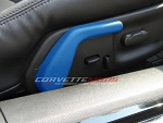 C6 Corvette 2005-2013 Custom Painted Seat Adjustment Levers Set