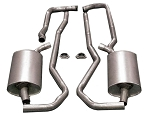 C3 Corvette 1968-1974 Allens Bolt Together Exhaust Systems