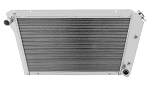 C3 C4 Corvette 1968-1996 Champion Cooling Performance Aluminum Radiators - 2 / 3 / 4 Row Selections