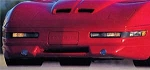 C4 Corvette 1991-1996 Front Spoiler w/ Driving Lights - 3pc Kit - C4R John Greenwood Design