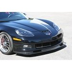 C6 Corvette 2006-2013 APR Carbon Fiber Z06 Style Front Splitter - Bumper Reinforcement Option