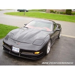 C5 Corvette 1997-2004 APR Carbon Fiber Front Splitter With Support Rods