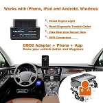 C4 C5 C6 C7 Corvette 1996-2014+ Mini Wifi OBDII Scan Tool Diagnostic Reader