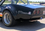 C3 Corvette 1968-1982 GM Factory Racing Style Flared Rear Fenders - Fiberglass or Carbon Fiber