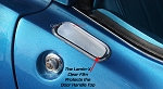 C3 Corvette 1968-1982 Lamin-X Clear Bra Outer Door Handle Protection - Pair