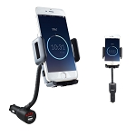 C3 C4 C5 C6 C7 Corvette 1968-2014+ 3 In 1 Smart Phone Mount, USB Car Charger & Voltage Detector