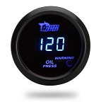 C3 C4 C5 C6 C7 Corvette 1968-2014+ Blue Digital Gauges - 2 Inches - 6 Gauge Types