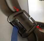 C7 Corvette Stingray / Z06 / Grand Sport 2014+ GM Interior Seat Belt Safety Guide