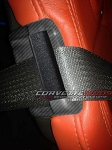 C7 Corvette Stingray/Z06/Grand Sport 2014-2019 Hydro Carbon Fiber Interior Seat Safety Belt Guide