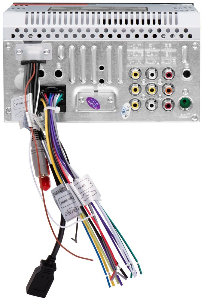 aj149203 c3 c4 c5 c6 c7 corvette 1968 2014 boss audio double din 6 2 inch dual double din wiring diagram at fashall.co