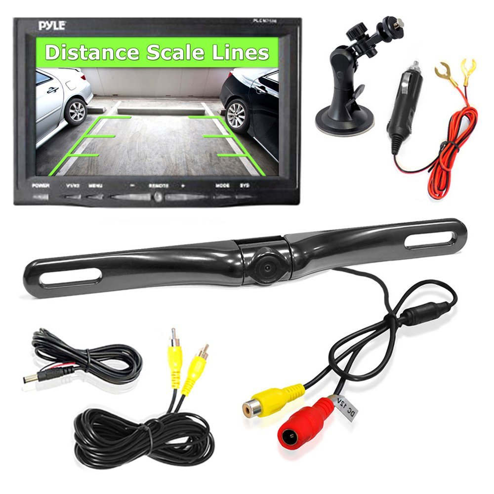 Weldex Backup Camera Wiring Diagram further Pyle Plcm7500 Wiring Diagram in addition Tadibrothers Backup Camera Wiring Diagram together with Safety Dave Reversing Camera Wiring Diagram besides Rear View Backup Camera And Monitor System With 7 LCD Display Screen  Waterproof Night Vision Camera  Distance Scale Lines  Parking Reverse Assist. on pyle plcm7700 wiring diagram