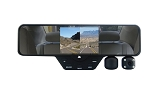 HD DVR Dual Dash Cam Rear View Mirror - 1080p