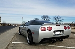 C5 Corvette 1997-2004 Custom Painted Wicker Bill Spoiler - No-Drill Design