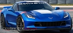 C7 Corvette 2017+ Windshield Decal - Grand Sport