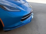 C7 Corvette Stingray 2014-2019 Custom Painted Stainless Steel Front Lip Spoiler