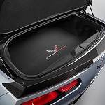 C7 Corvette Grand Sport 2017-2019 GM Black Cargo Mat With Colored Logo