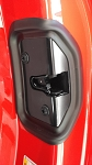 C7 Corvette Stingray/Z06/Grand Sport 2014+ Door Lock Latch Cover With Gasket - Pair