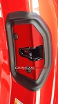 C7 Corvette Stingray/Z06/Grand Sport 2014-2019 Custom Painted Door Lock Latch Cover With Gasket - Pair