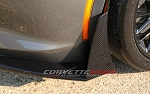 C7 Corvette Stingray/Z06/Grand Sport 2014-2019 Hydro Carbon Fiber Stage 2/3 Front Splitter Winglets