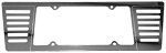 C6 C7 Corvette 2005-2014+ Mirror Finish License Plate Frame