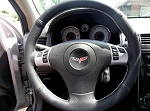 C6 Corvette 2005-2013 Perforated Leather Steering Wheel Cover