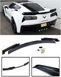 C7 Corvette Stingray 2014+ Unpainted Stage 2 Wickerbill Spoiler w/ Optional Tinted Wickerbill