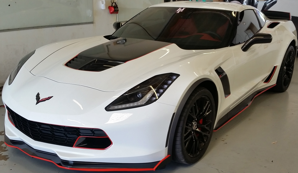 C2 C3 C4 C5 C6 C7 Corvette 1963 2014 Colored Vinyl Pinstriping Decals 1 8 Inch Cut To Fit Anywhere On Vehicle Corvette Mods